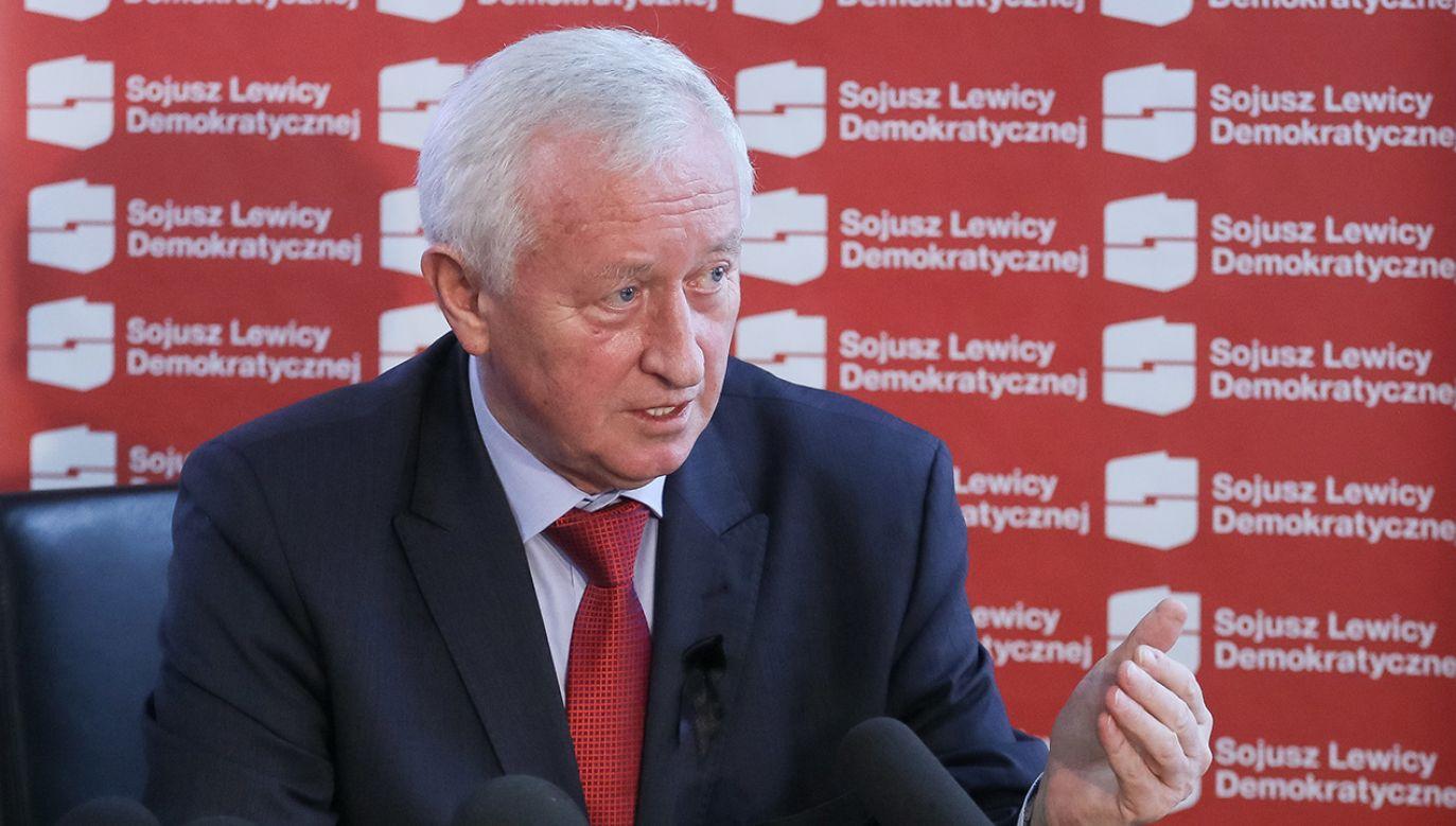 Bogusław Liberadzki, europoseł, wiceprzewodniczący Sojuszu Lewicy Demokratycznej (fot. PAP/Paweł Supernak)