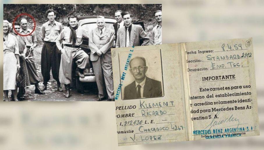 Eichmann ukrywał się jako Ricardo Klement (fot. TT/SZ/Times of Israel/Wiki)