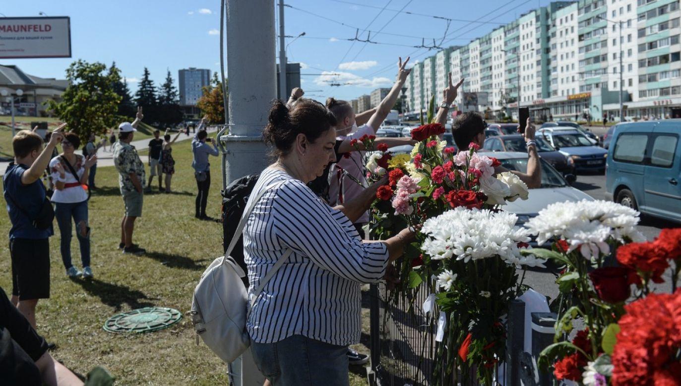 Stanowisko Zachodu w sprawie wyborów na Białorusi jest jednolite – podkreślił wiceszef MSZ (fot. PAP/EPA/YAUHEN YERCHAK)