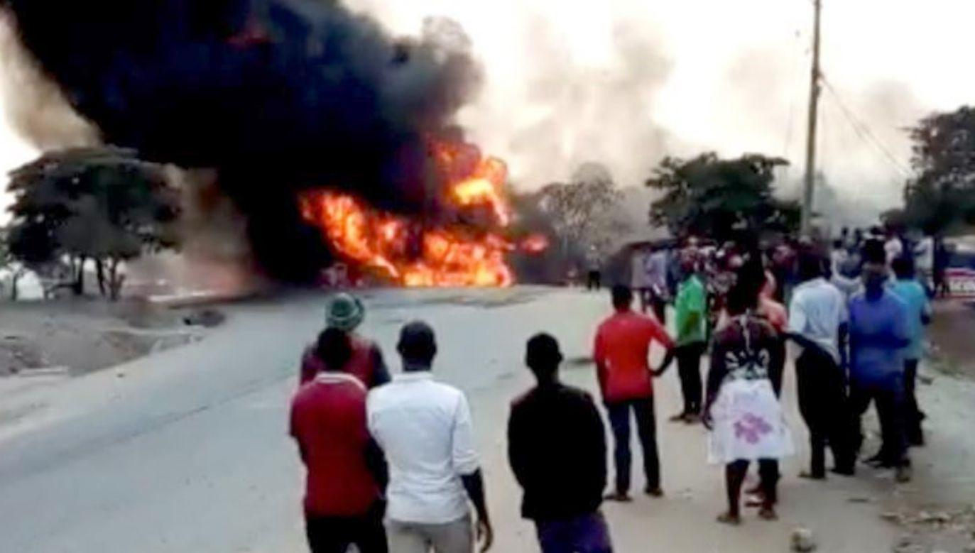 Do eksplozji doszło w pobliżu targu  (fot. Nayebare Ediger via REUTERS)