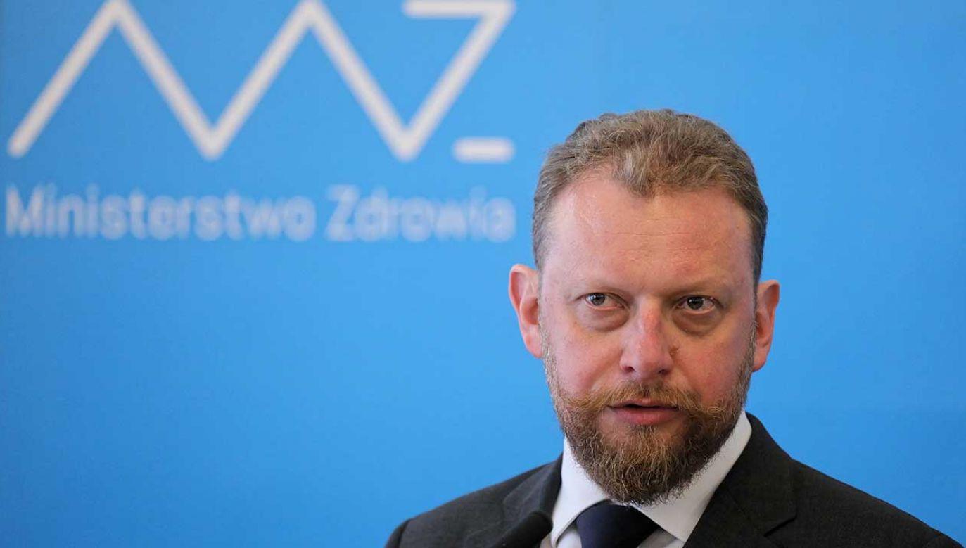 Jednym z problemów w kwestii dostępności leków – w ocenie ministra Szumowskiego – obok czarnego rynku jest ich nadmierny wykup (fot. PAP/Paweł Supernak)