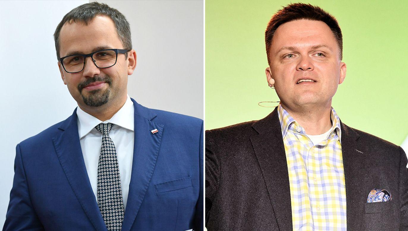 Media donoszą, że dziennikarz Szymon Hołownia ma w niedzielę ogłosić swój start w wyborach prezydenckich(fot. arch.PAP/Adam Warżawa, Marcin Obara)
