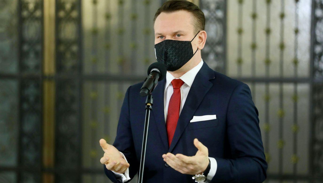 Tarczyński zarzuca Platformie kłamstwo (fot. arch.PAP/Rafał Guz)