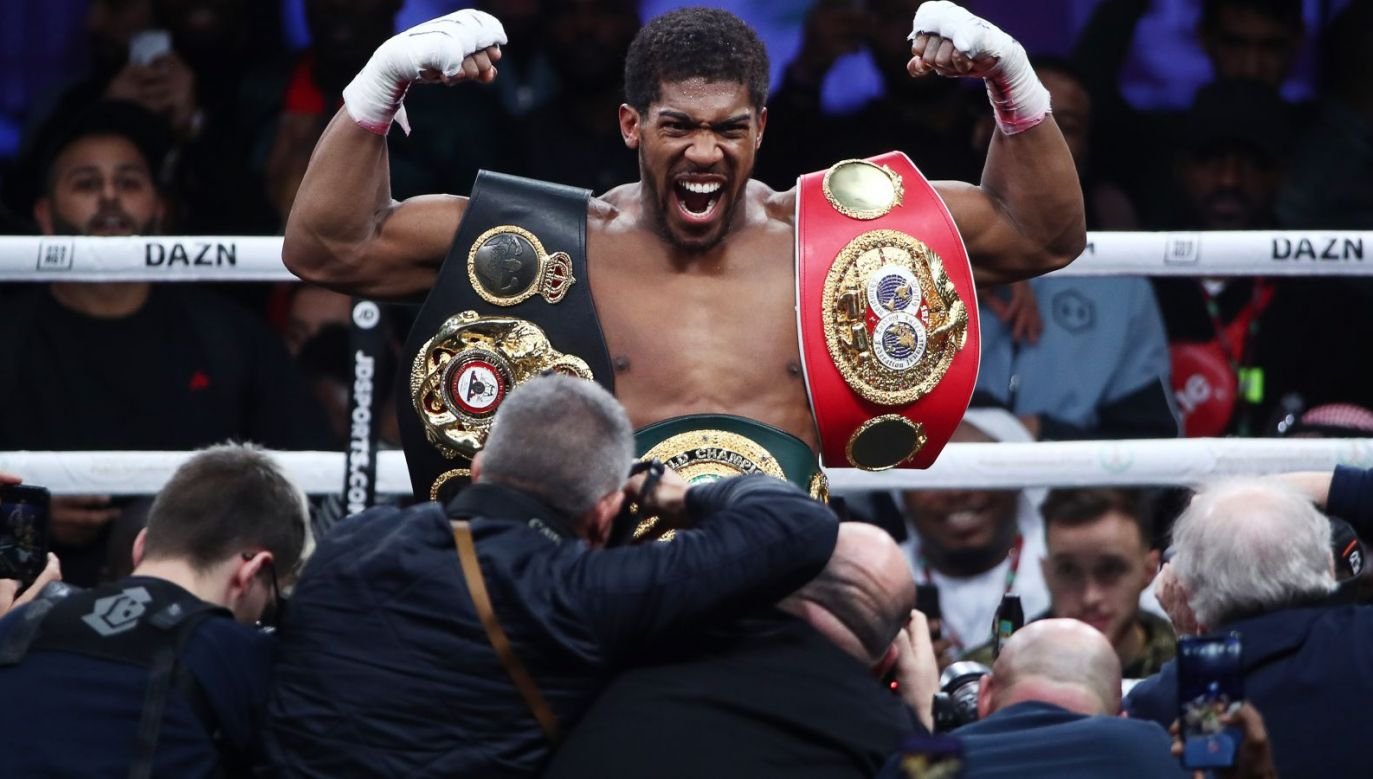 Anthony Joshua (fot. Getty Images)