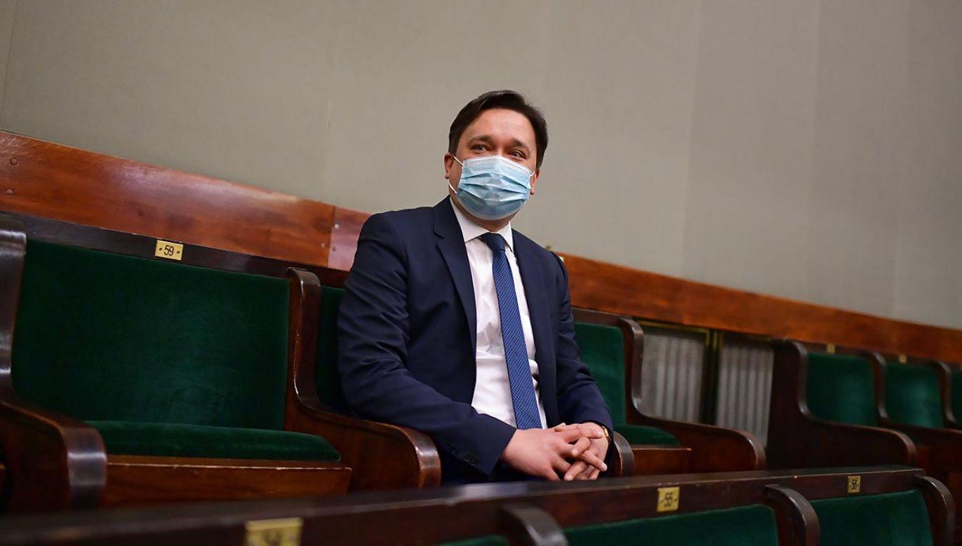 Marcin Wiącek (fot. PAP/Marcin Obara)