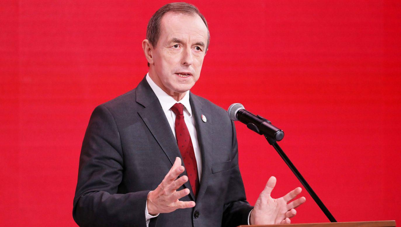 Tomasz Grodzki (fot. PAP/Paweł Supernak)