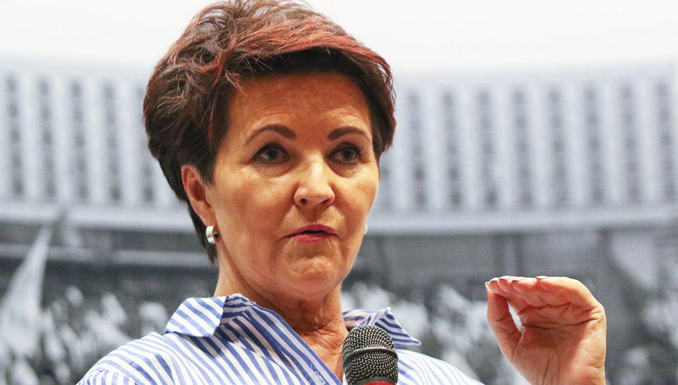 Jolanta Kwaśniewska udzieliła szokującego wywiadu (fot. M.Fludra/NurPhoto/Getty Images)