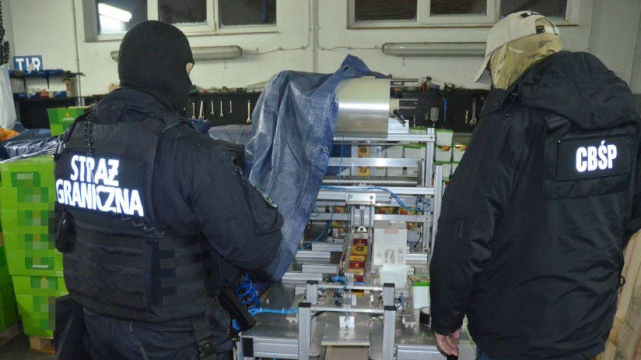 Policjanci rozpracowywali gang przez dwa lata ( fot. CBŚP)