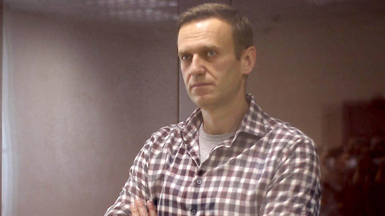 Rosyjski opozycjonista Aleksiej Nawalny (fot. Moscow City Court\TASS via Getty Images)