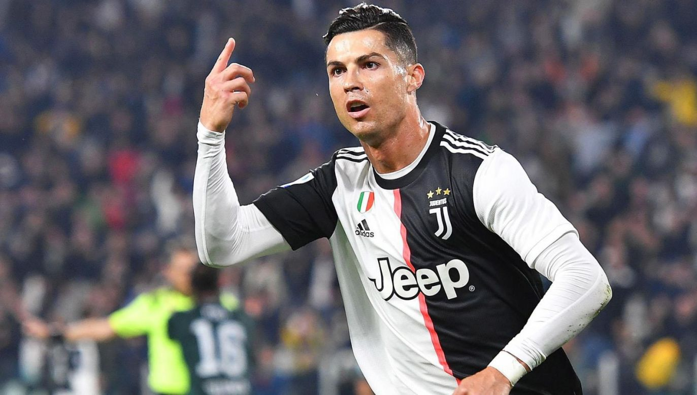 Cristiano Ronaldo zdobył w sobotę 701. gola w karierze (fot. PAP / EPA)