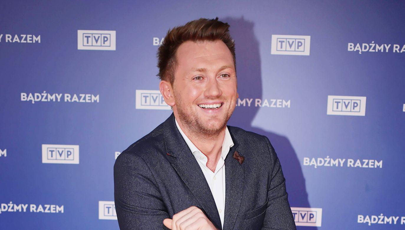 Adam Giza z TVP Info (fot. arch. PAP/Leszek Szymański)