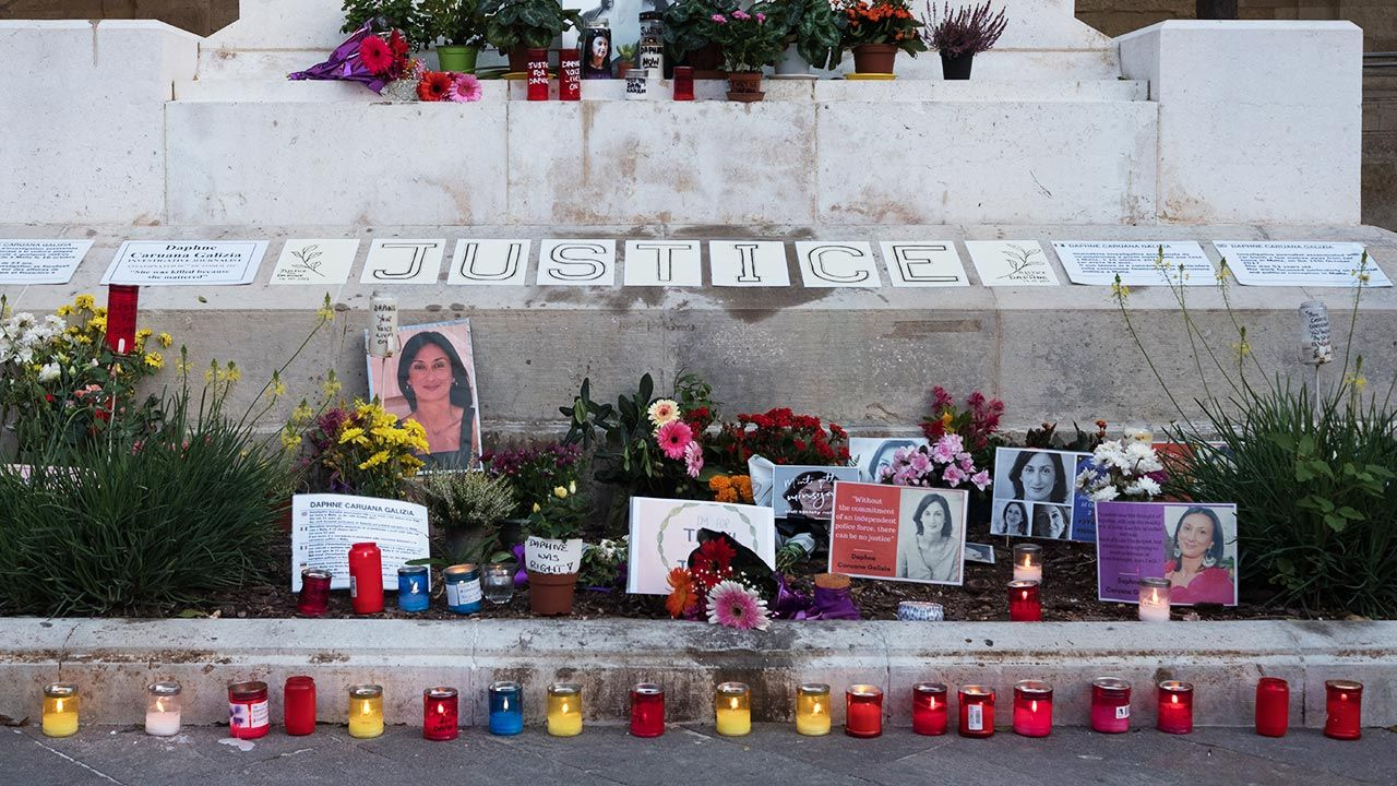 Jeden z zabójców dziennikarki skazany na 15 lat więzienia (fot.  Joanna Demarco/Getty Images)