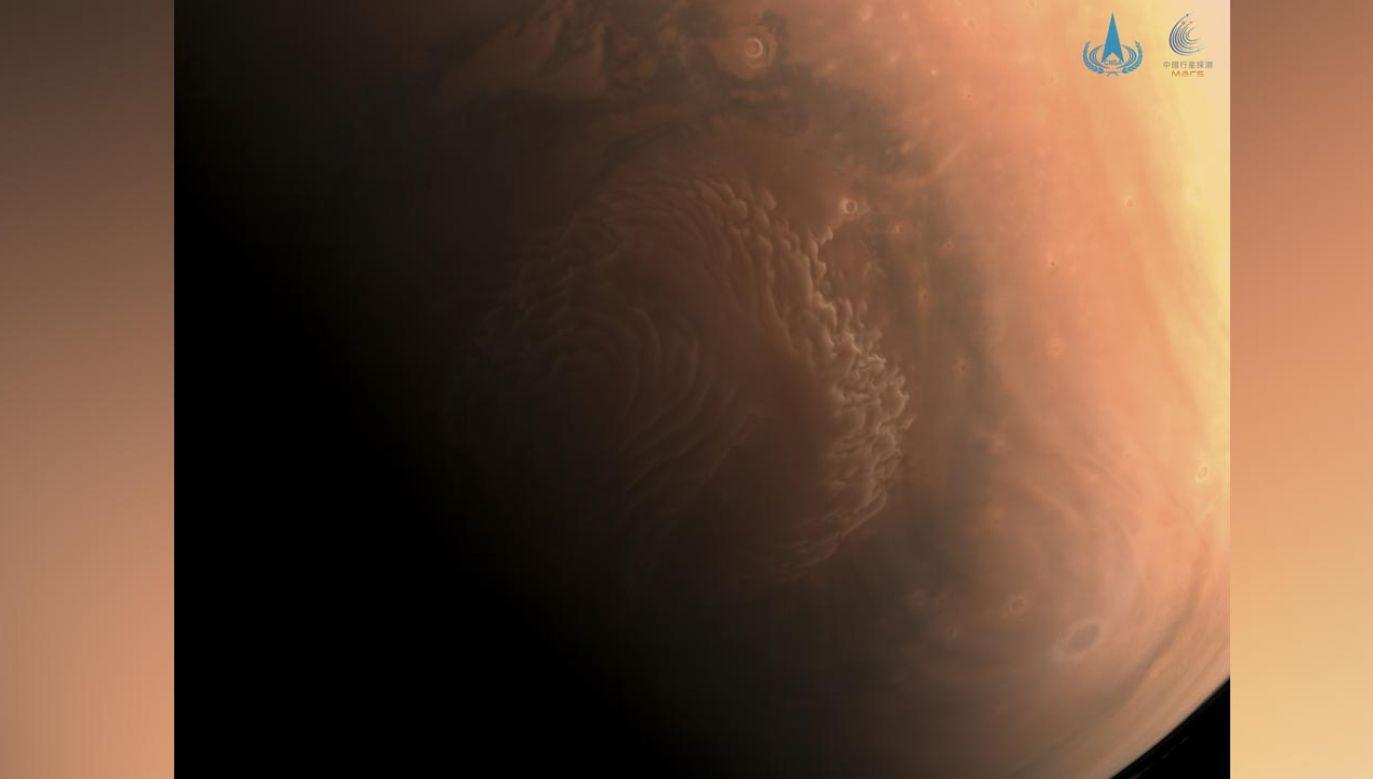 Powierzchnia Marsa (fot. cnsa.gov.cn)