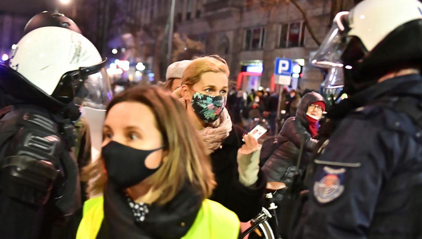 Policja zapowiada wyjaśnienie sprawy (Fot. PAP/Andrzej Lange)
