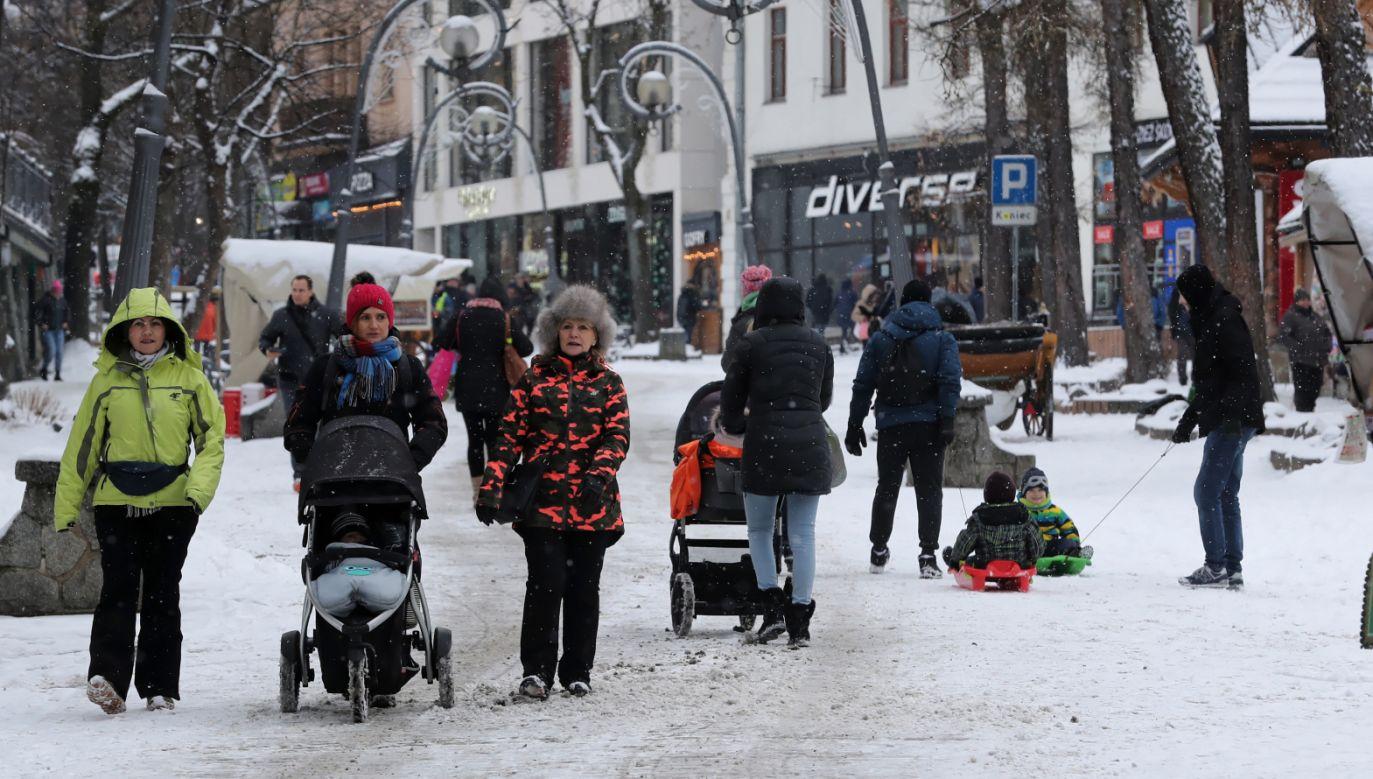Likwidacja starych pieców poprawia jakość powietrza w Zakopanem (fot. PAP/Grzegorz Momot)