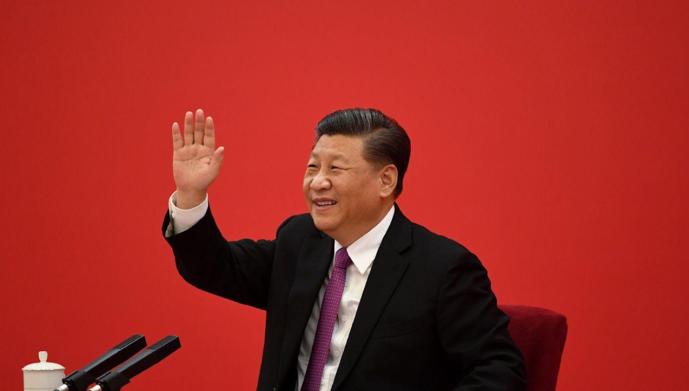 Dla Xi Jinpinga i jego ekipy najważniejsze jest utrzymanie kontroli nad społeczeństwem (fot. Noel Celis - Pool/Getty Images))
