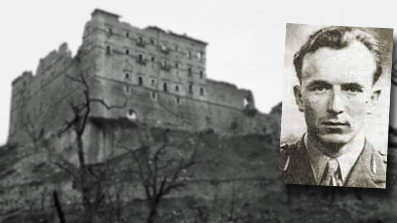 Patrol ppor. Kazimierza Gurbiela jako pierwszy zajął ruiny klasztoru na Monte Cassino (fot. Wiki/Imperial War Museums/FB/RokZolnierzyTulaczy)