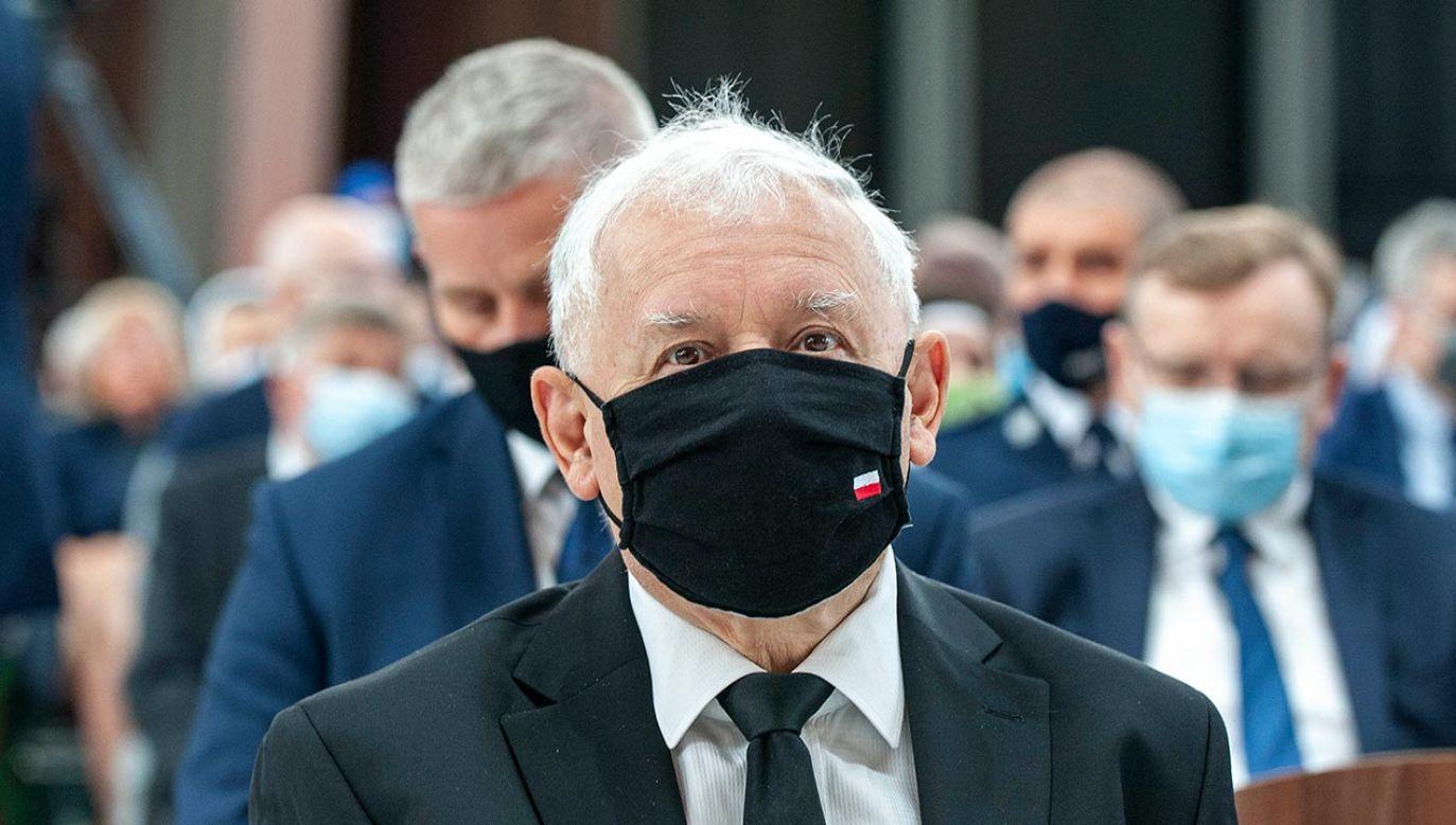 Jarosław Kaczyński (fot. Forum/FotoNews/WOJCIECH TOMASZEK)