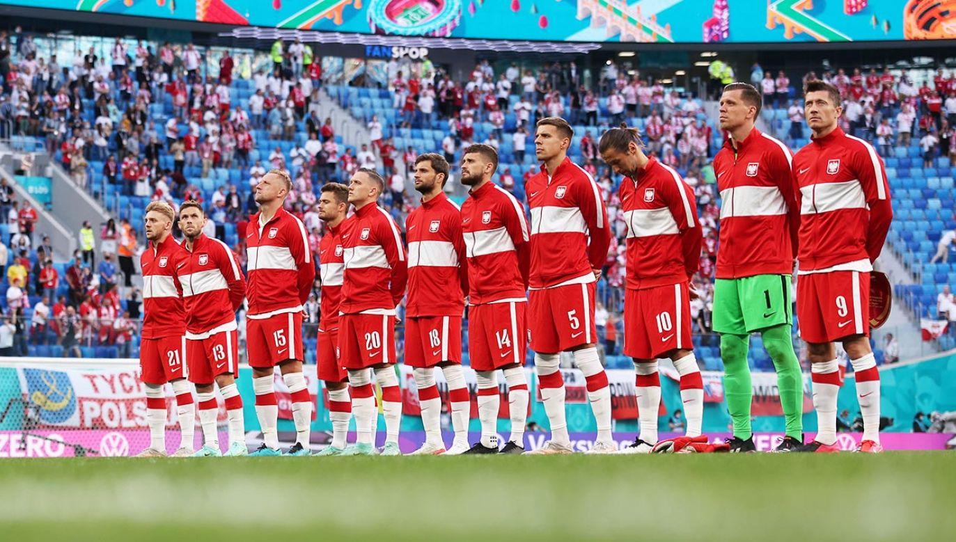 Reprezentacja Polski (fot. Joosep Martinson - UEFA/UEFA via Getty Images)