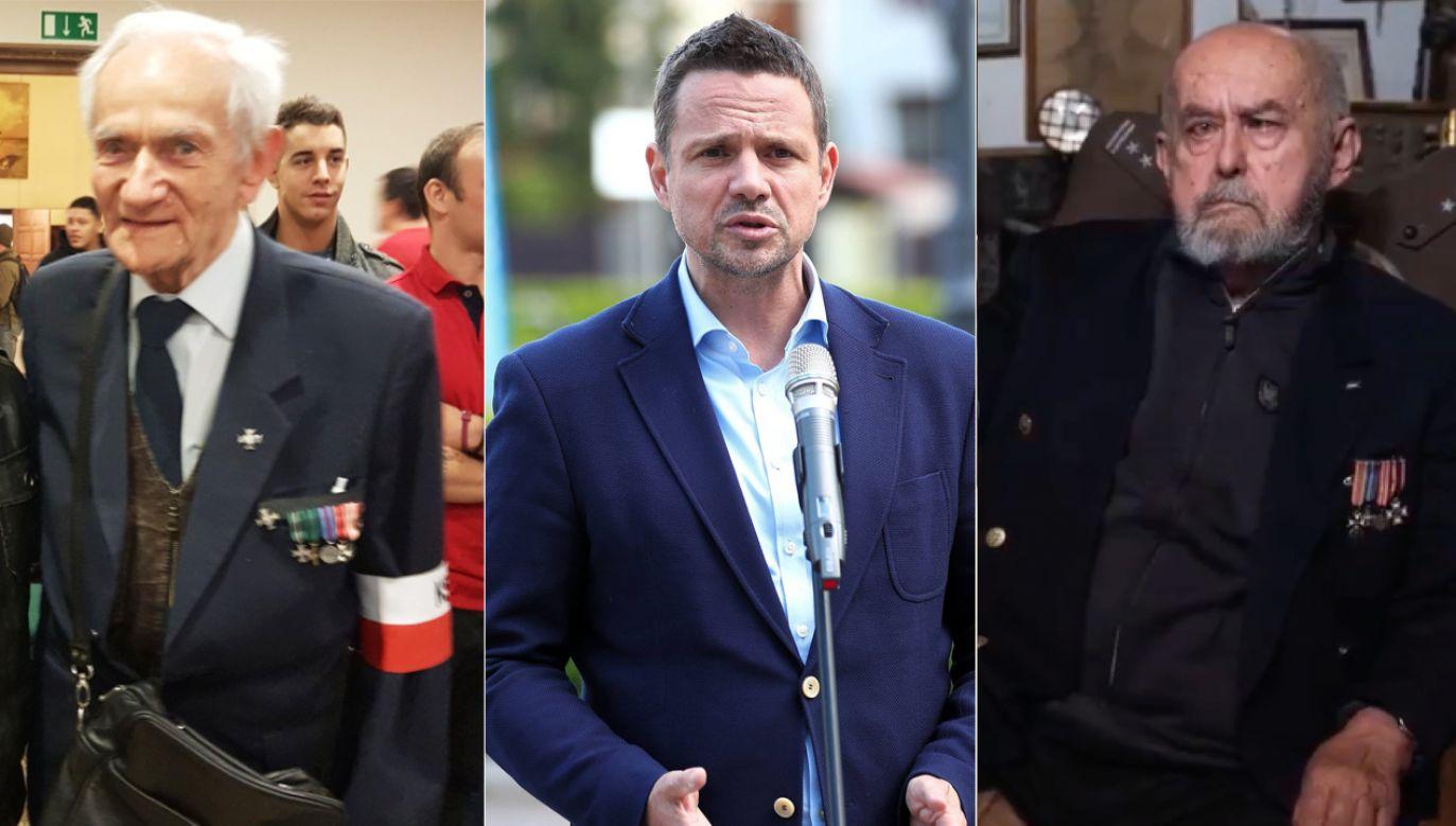 Powstańcy zabrali głos ws. Marszu Niepodległości (fot. tt/@Fundacja_PFN, PAP/Łukasz Gągulski, tt/TVPInfo)