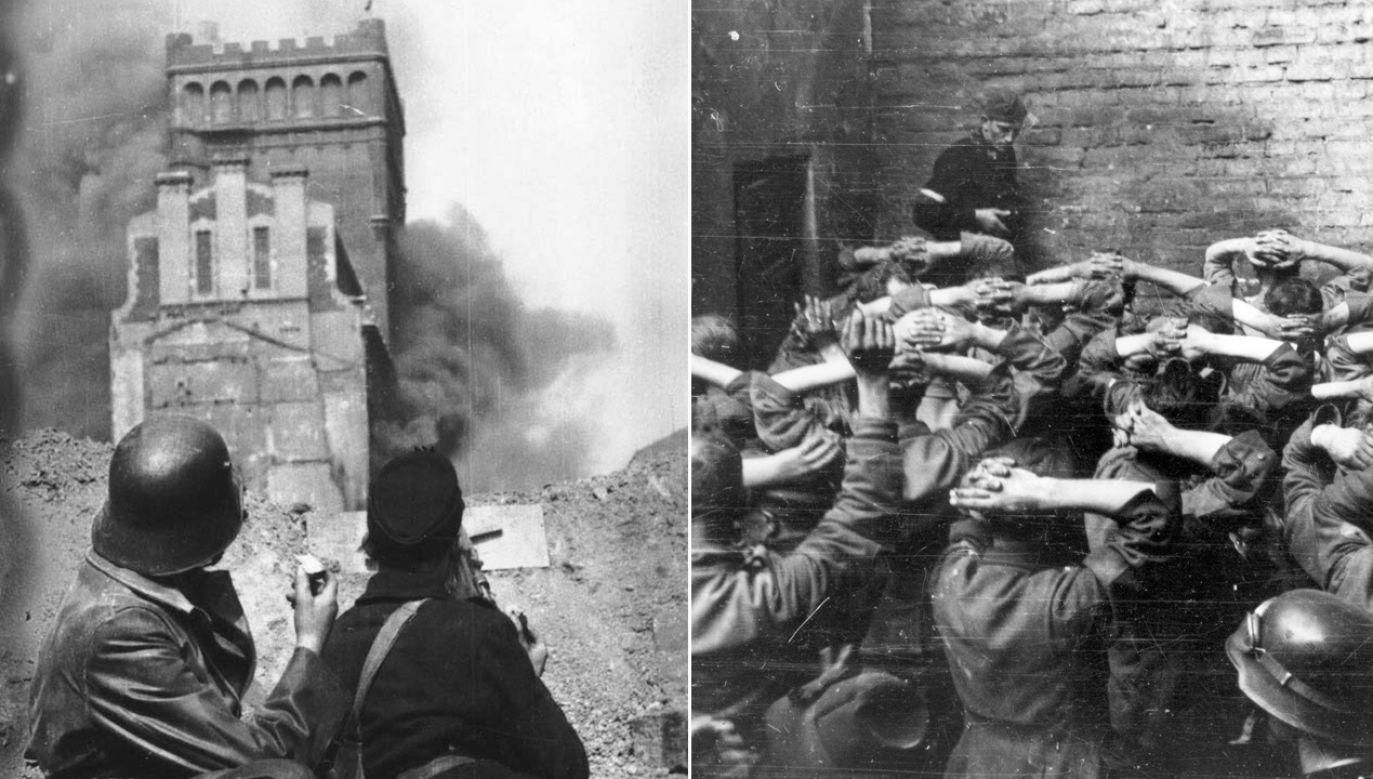 Walki o zdobycie budynku PAST-y trwały kilka dni (fot. arch. PAP/Alamy)