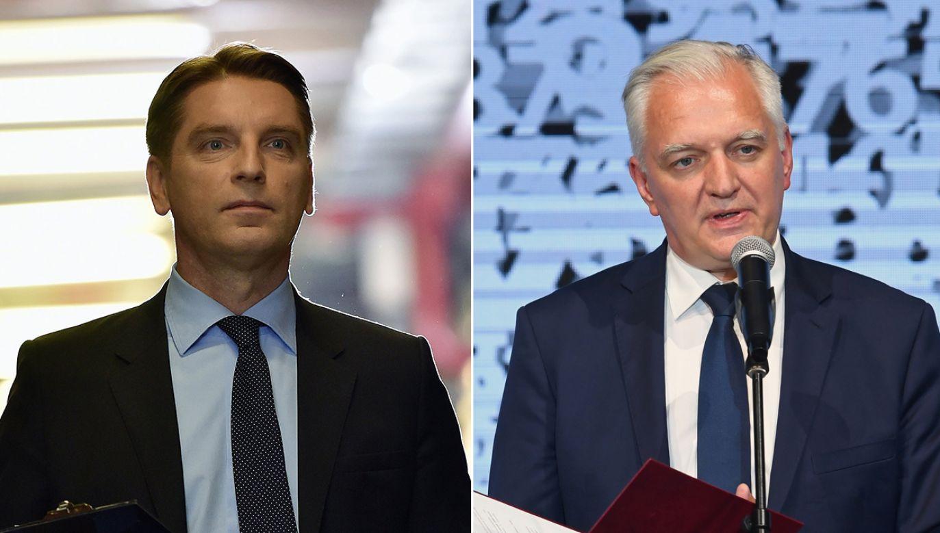 Dziennikarz w ostrych słowach skrytykował polityka, któremu kilka godzin wcześniej proponował tekę premiera. (fot. arch. TVP/PAP/Ireneusz Sobieszczuk/Jacek Bednarczyk)