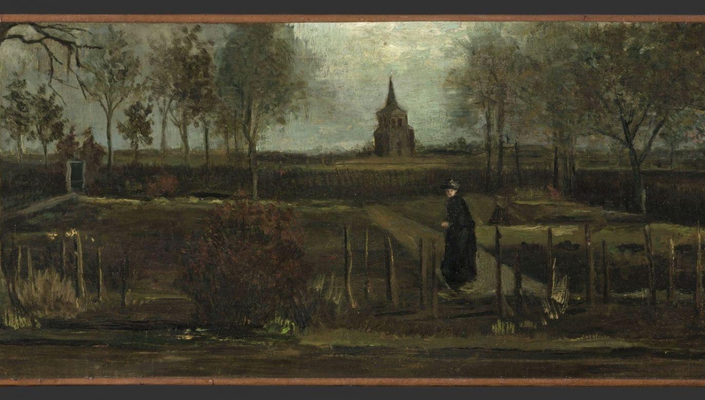 Obraz został wypożyczony z muzeum w Groningen na wystawę czasową w galerii w Amsterdamie (fot. PAP/EPA/HANDOUT/Marten de Leeuw)