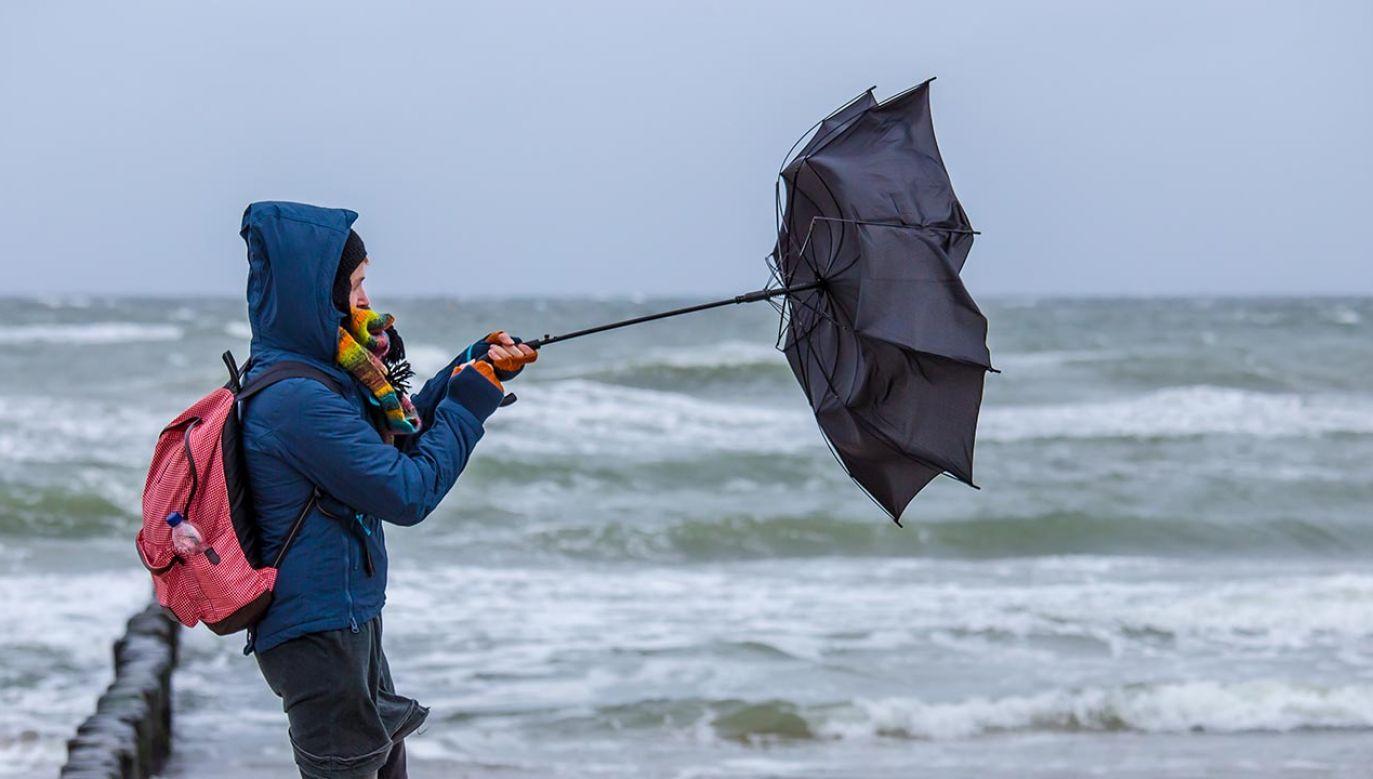 Niebezpieczna pogoda w piątek (fot. Shutterstock/Rainer Fuhrmann)