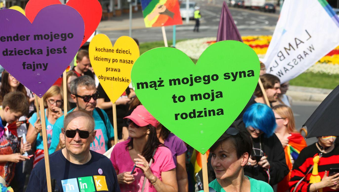 Marsz Równości w Białymstoku (fot. PAP/Artur Reszko)