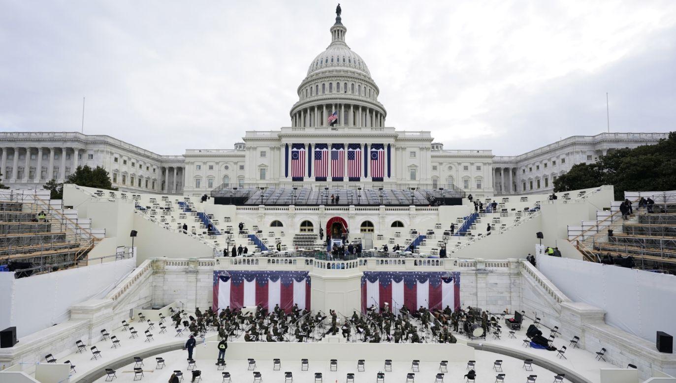 Władze mówią, że nie ma zagrożenia dla bezpieczeństwa publicznego (fot. PAP/EPA/Patrick Semansky / POOL)