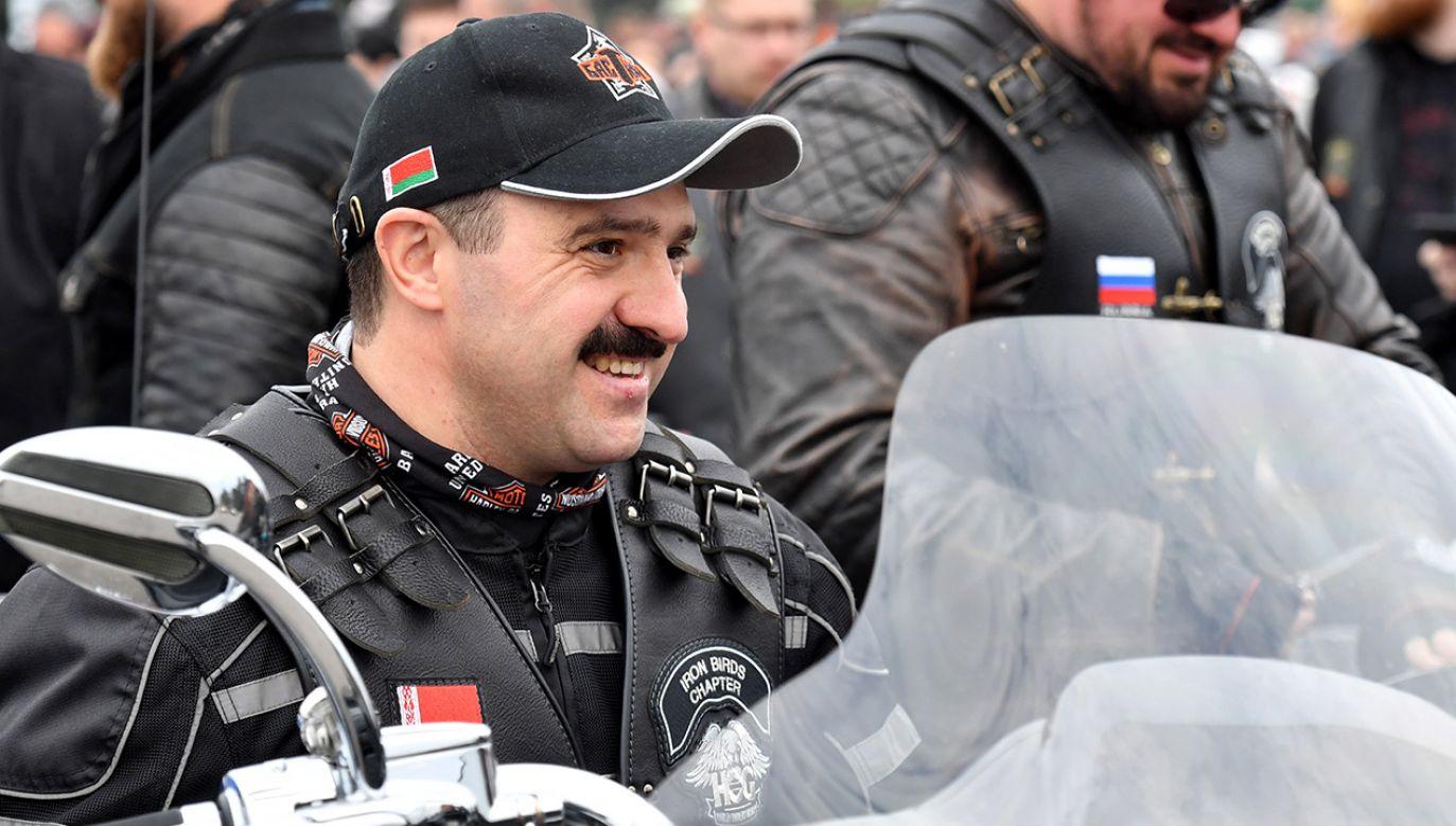 Wiktor Łukaszenka będzie w Komitecie Olimpijskim Białorusi zastępcą swego ojca, Aleksandra. (fot. Viktor Drachev\TASS via Getty Images)