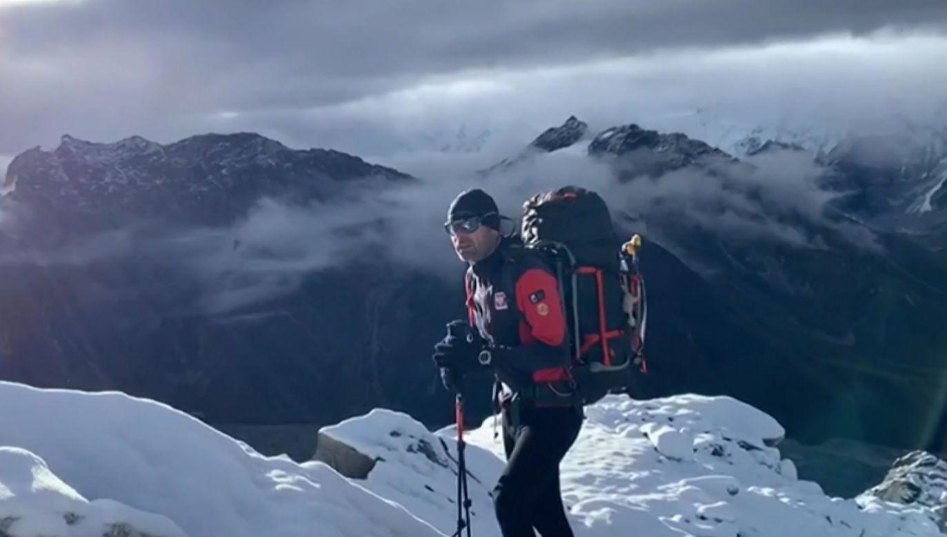 Wyprawa na czwarty najwyższy szczyt świata ma być przygotowaniem do przyszłorocznej zimowej ekspedycji na K2 (fot. TVP)