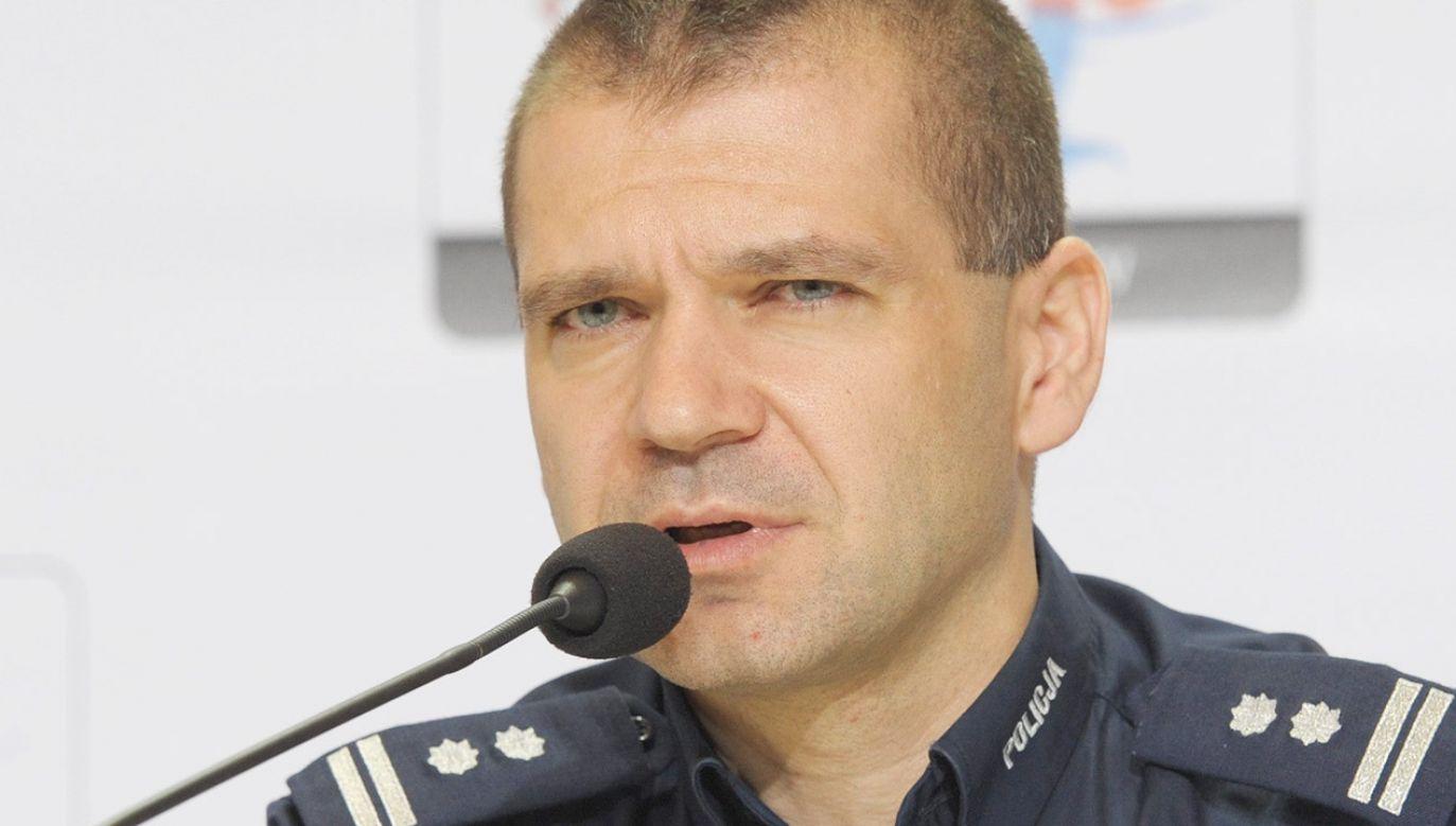 Płk Maciej Karczyński (fot. arch.PAP/Andrzej Hrechorowicz)