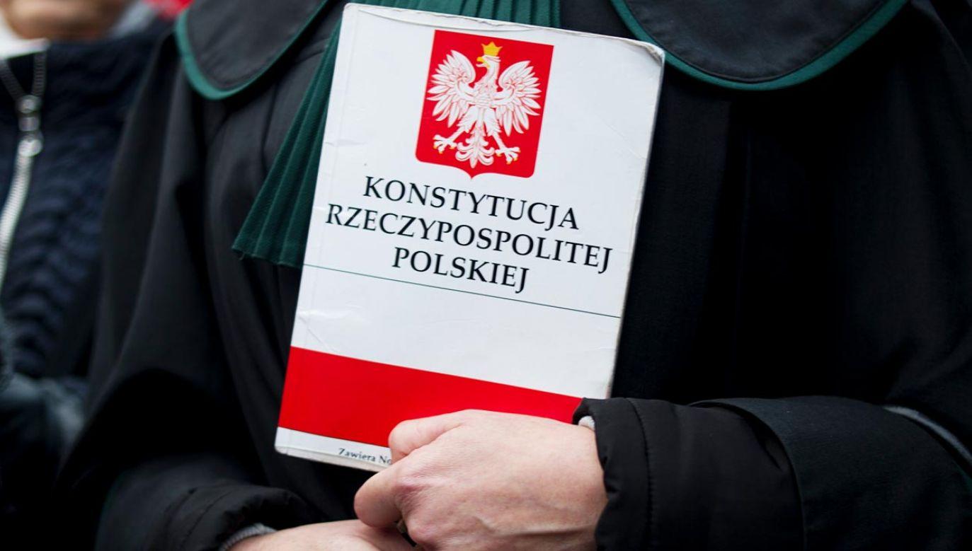 Prezydent chce zmiany konstytucji (fot. Aleksander Kalka/NurPhoto via Getty Images)