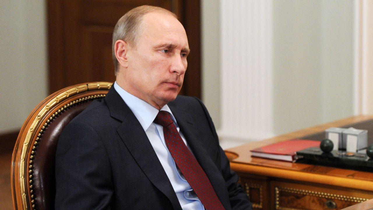 Władimir Putin (fot. PAP/EPA/MIKHAIL KLIMENTYEV / RIA NOVOSTI / KREMLIN POOL)