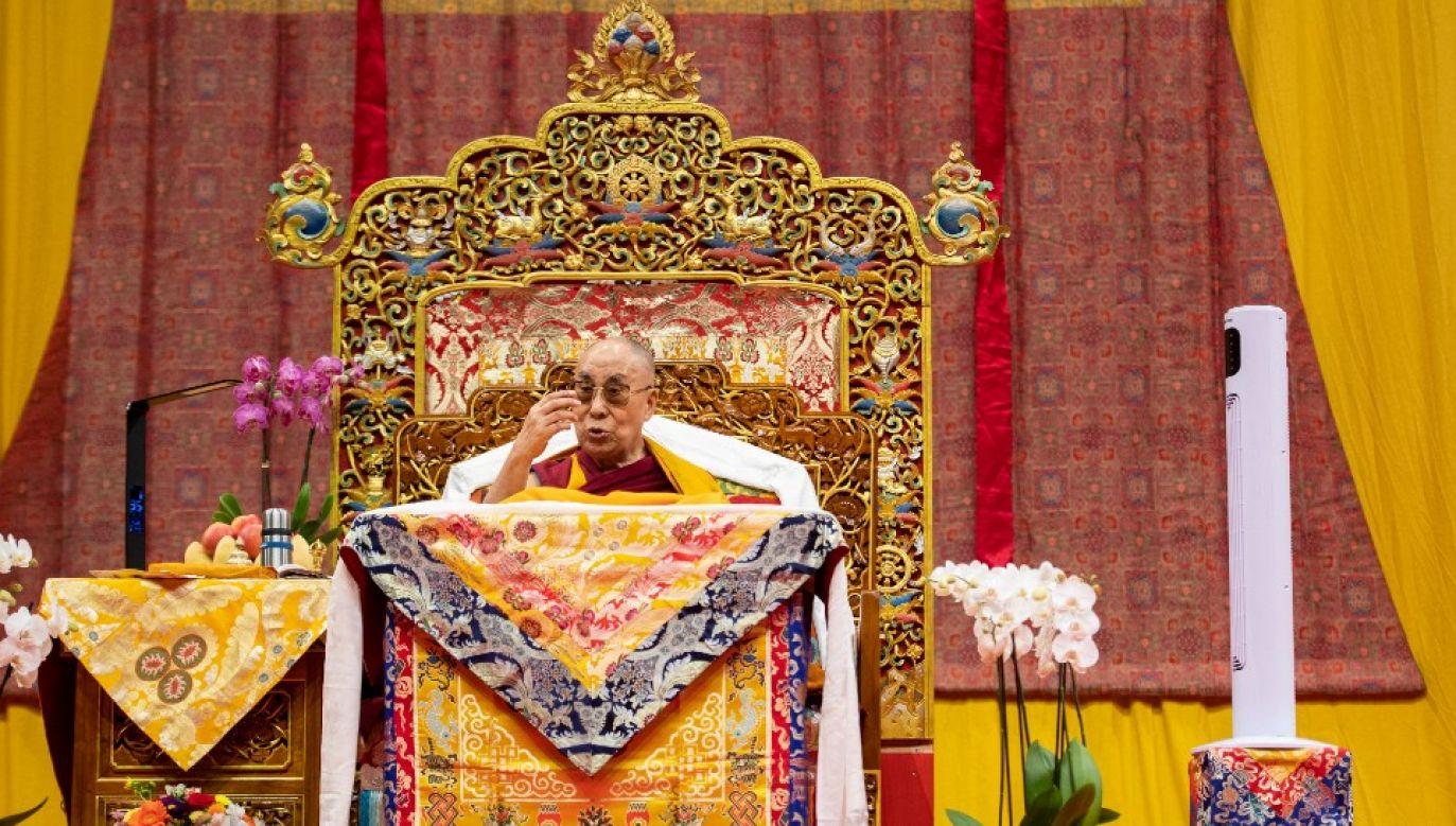 Zrozumiałym jest czuć niepokój i strach – przyznał Dalajlama XIV (fot. arch.PAP/EPA/ENNIO LEANZA)