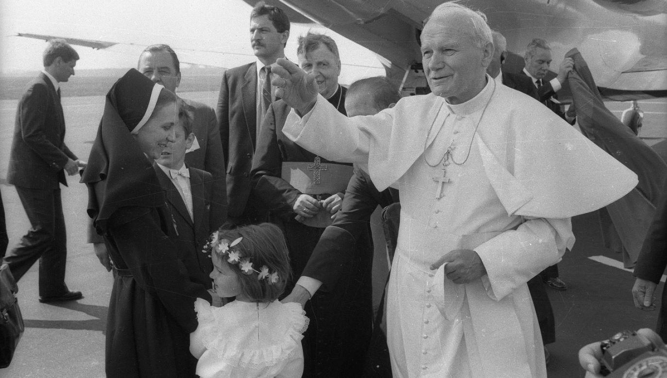 Papież Jan Paweł II (fot. PAP/CAF/Jerzy Undro)