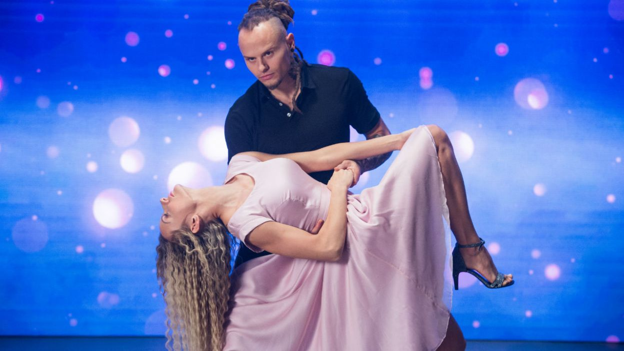 Mateusz Janusz i Pamela Stefanowicz postarają się zrobić dobre wrażenie na jury (fot. TVP)