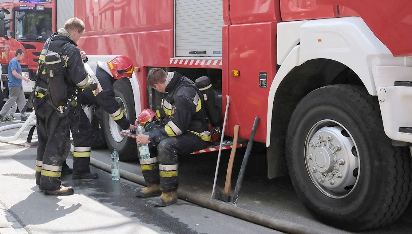 Wystarczyło podanie tlenu, aby mężczyzna odzyskał przytomność (fot. PAP/Hanna Bardo, zdjęcie ilustracyjne)