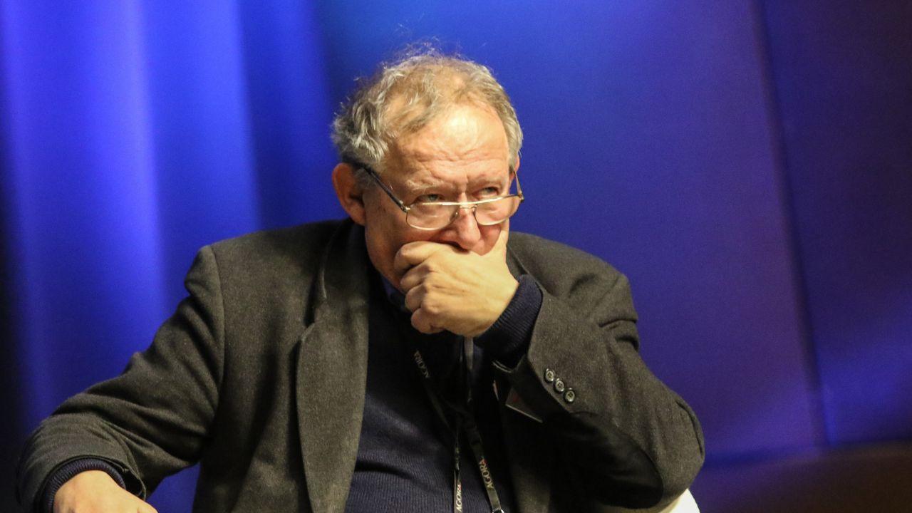 """Redaktor naczelny """"Gazety Wyborczej"""" Adam Michnik (fot. Michal Fludra/NurPhoto via Getty Images)"""