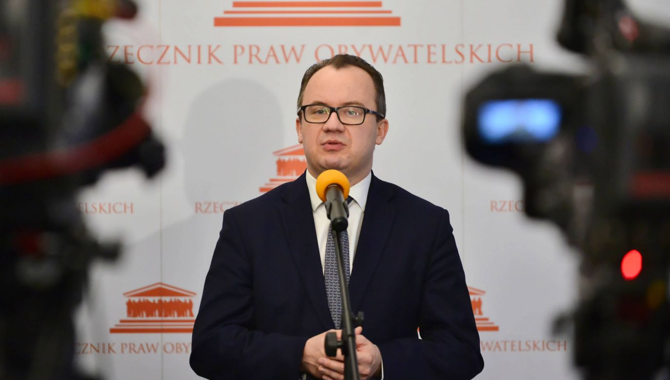 Rzecznik Praw Obywatelskich Adam Bodnar (fot. arch.PAP/Jakub Kamiński)