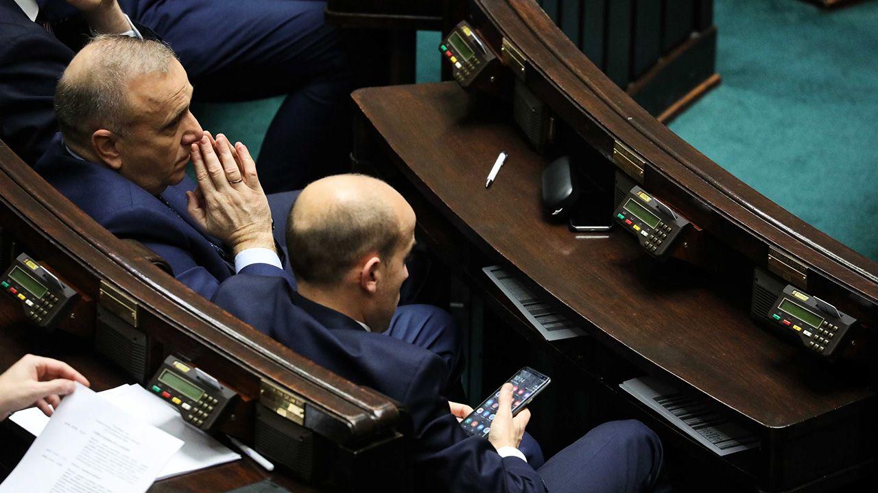 Na głosowaniu nie stawiło się 11 posłów Koalicji Obywatelskiej (fot. PAP/Tomasz Gzell)