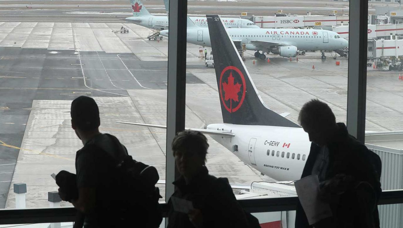 Air Canada wznosi się na wyżyny walki o równość płci. (fot. Steve Russell/Toronto Star/Getty Images)