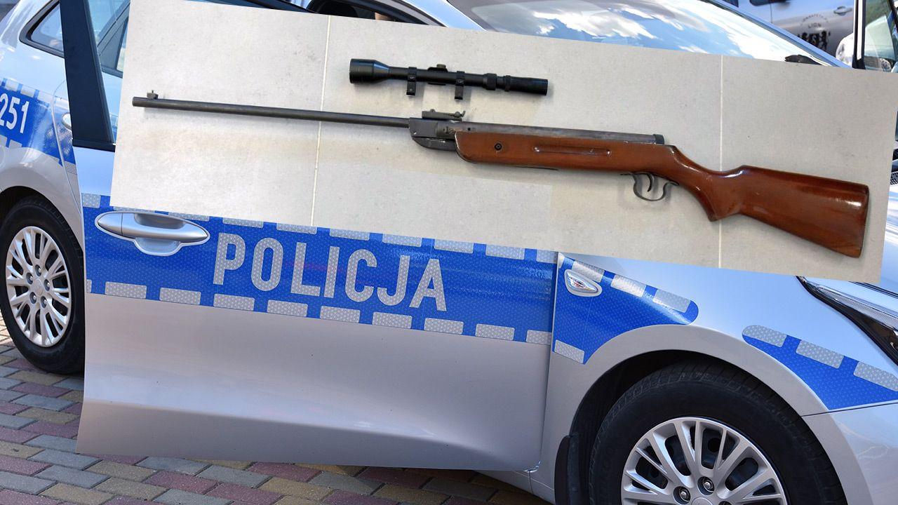 Agresywny mężczyzna strzelał do sąsiadki z wiatrówki (fot. Shutterstock; Policja)