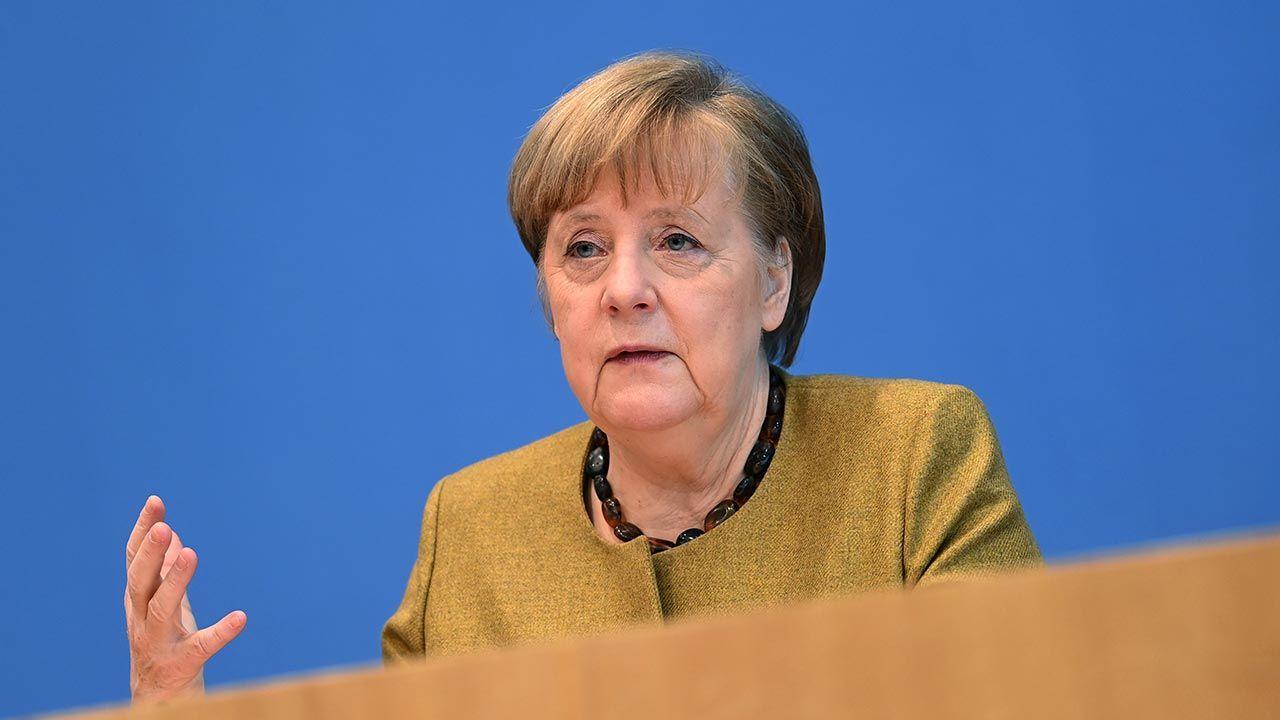 Kanclerz Niemiec nie wykluczyła także kolejnego zamknięcia granic (fot. Filip Singer - Pool/Getty Images)