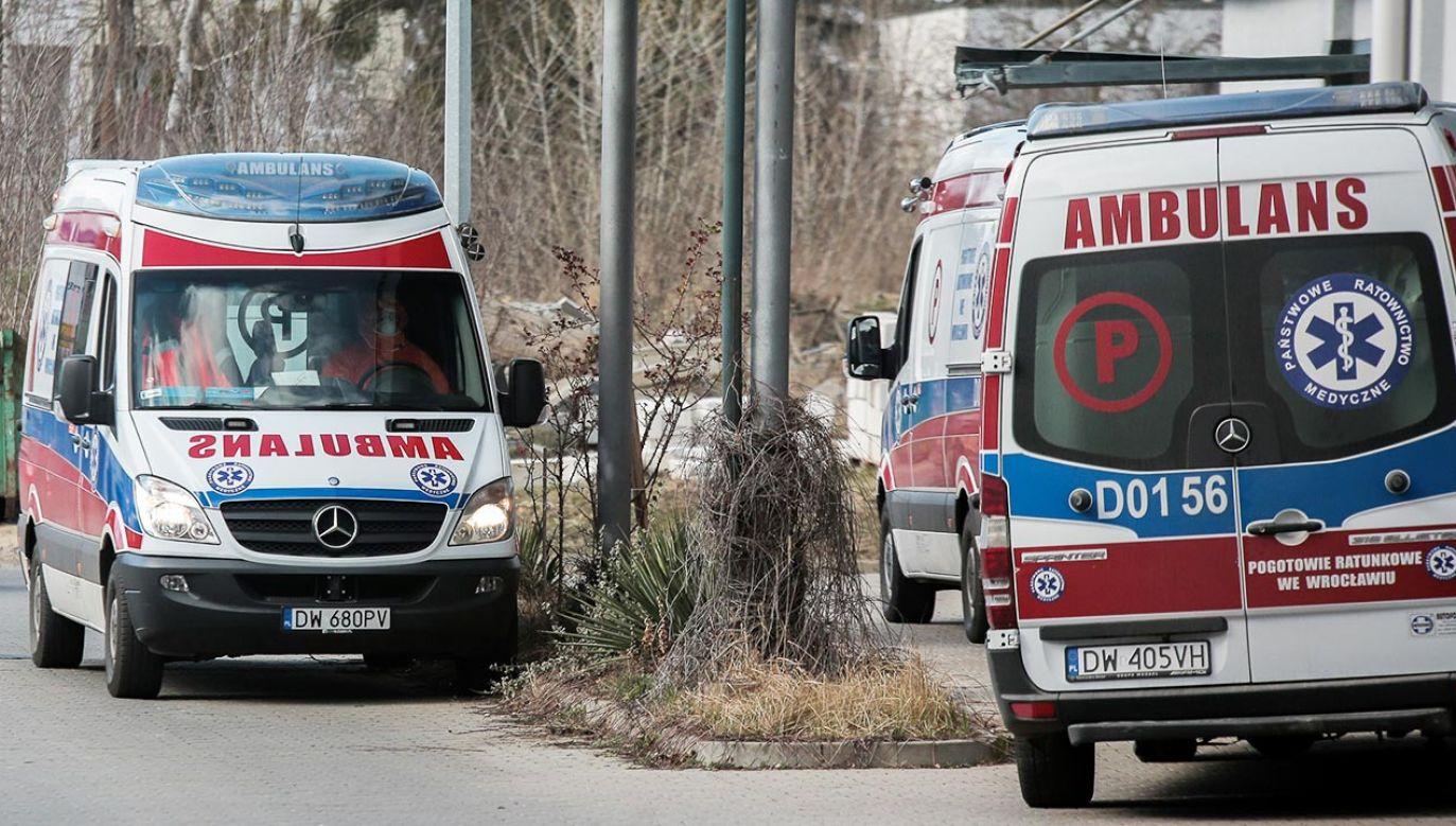 Stan epidemii w Polsce (fot. Krzysztof Zatycki/NurPhoto via Getty Images)