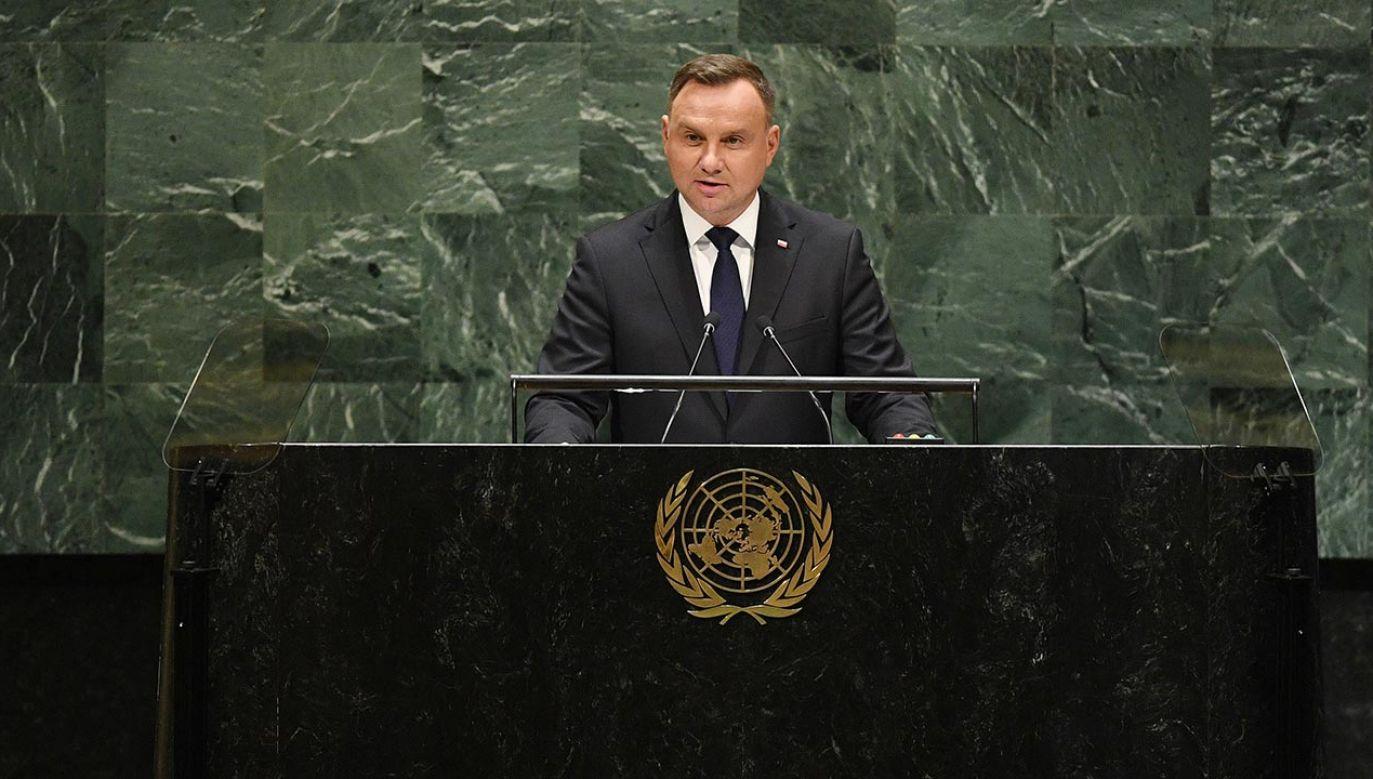 Podczas obrad przemówienia zostaną odtworzone z wcześniej nagranych wystąpień (fot. PAP/Radek Pietruszka)