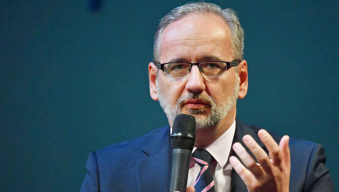 Konferencja ministra zdrowia (fot. PAP/P.Polak)
