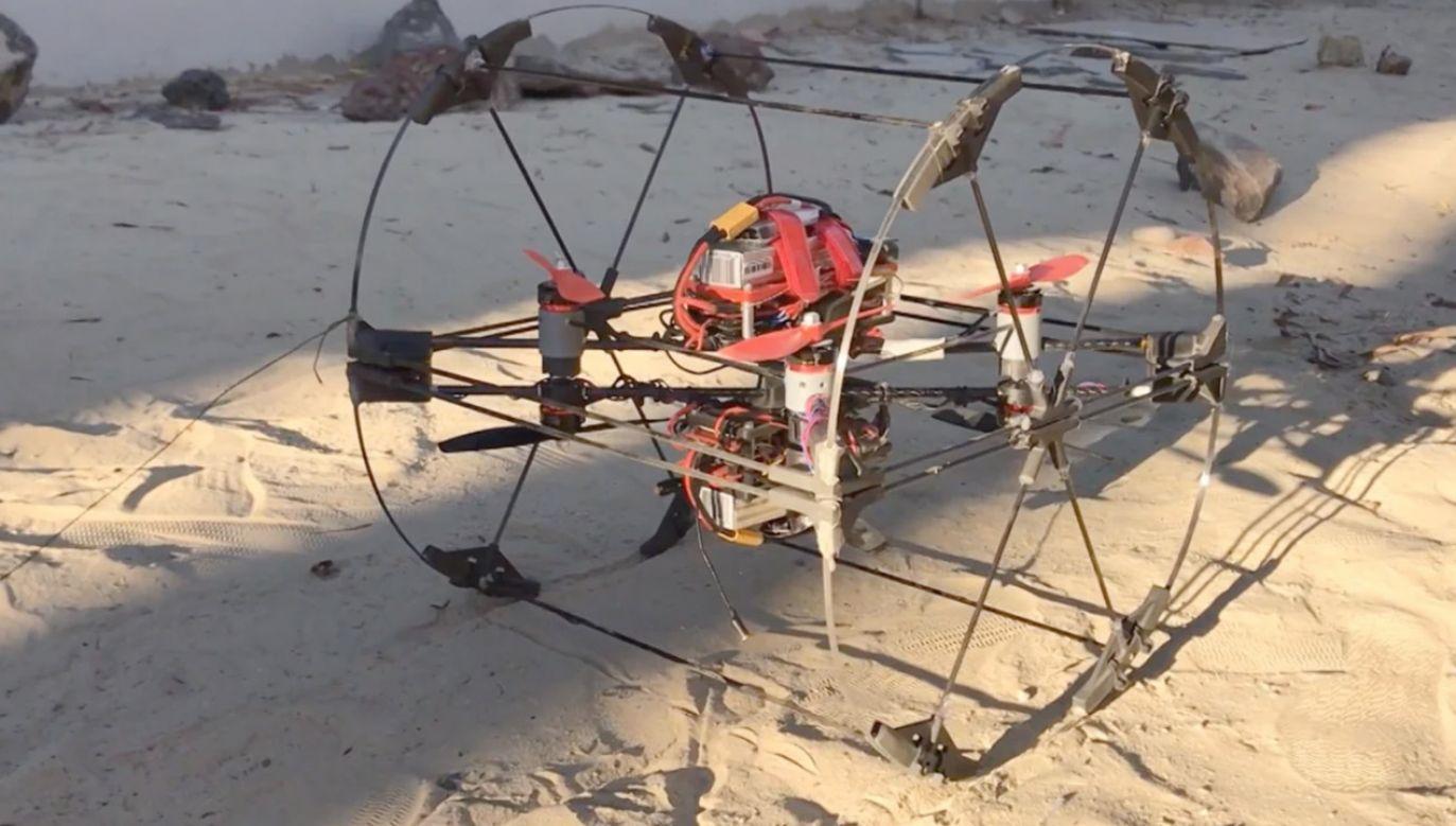Pojazd może być wykorzystany do badania Tytana (fot. NASA/JPL-Caltech)