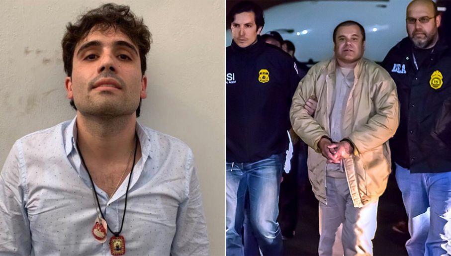 """Ovidio Guzman Lopez jest synem osławionego Jaquina """"El Chapo"""" Guzmana (fot. TT/ICE)"""